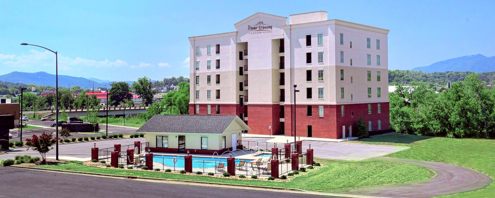 river crossing comdominiums